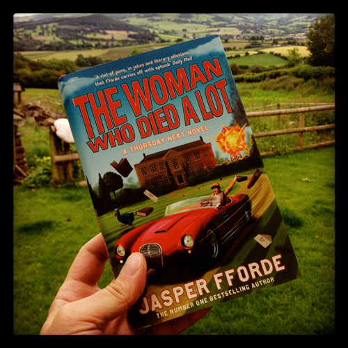 Jasper Fforde's New Book, the Woman who died a lot